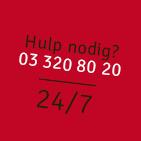 hulp nodig bel 24/7 03 320 80 20
